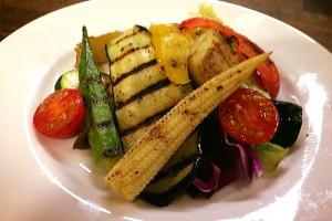 季節の野菜のグリル